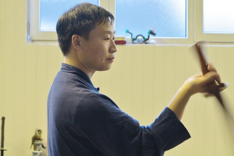 Meister Yang Jian Chao im Herbst 2018