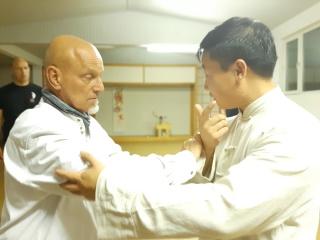 Tui Shou mit Yang Jian Chao